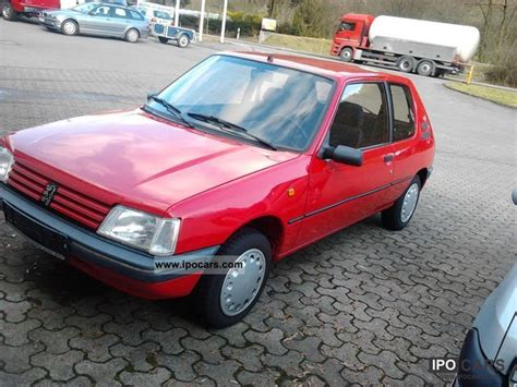 peugeot small automatic cars 1995 peugeot 205 automatic car photo and specs
