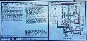 Vacuum Diagram - 80-96 Ford Bronco - 66-96 Ford Broncos