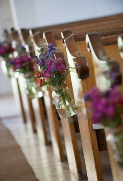 20 Stunning Church Wedding Aisle Decorations