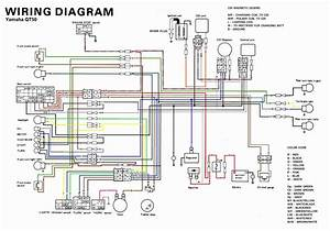 Motorcycle Wiring Diagram Yamaha