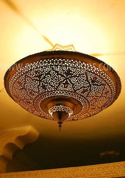 Moroccan Flush Mount Ceiling Light Fixture Roselawnlutheran