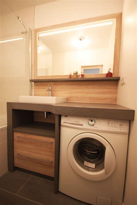 caisson bas cuisine un lave linge dans une salle de bain atlantic bain