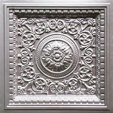 Faux Tin Decorative Ceiling Tile, Wall Decor, Photo Or