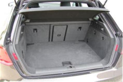 audi a3 sportback kofferraumvolumen adac auto test audi a3 sportback 2 0 tdi ambition