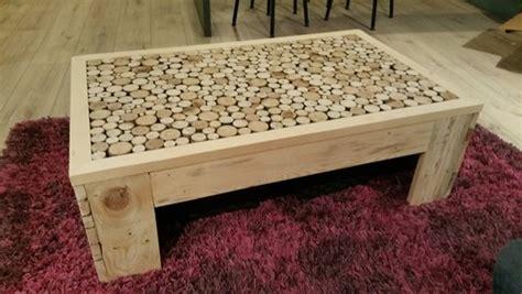 canapé palette bois fabrication table basse maison