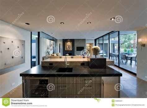 cuisine et salon salon et cuisine moderne cuisine en image