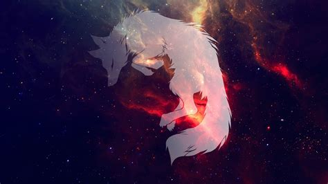 Galaxy Wolf Wallpaper Hd by Wolf Space Galaxy Sleeping Wallpapers Hd Desktop And