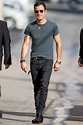 How to Wear A LOT of Black Like Justin Theroux | Justin ...