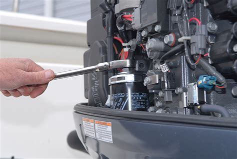 Yamaha Boat Motor Winterization by Diy Winterize Your Yamaha Four Cylinder Outboard
