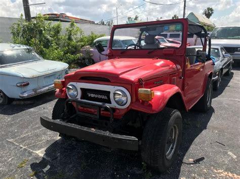 toyota jeep land cruiser stock   sale