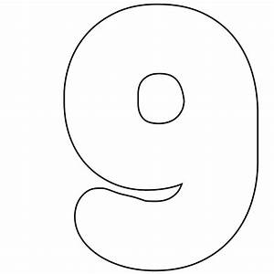 best photos of print number 0 printable number 0 With number 9 cake template