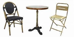 Mobilier Terrasse Restaurant Occasion : mobilier pour terrasses de restaurants de bars d h tels ~ Teatrodelosmanantiales.com Idées de Décoration