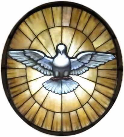Holy Spirit Dove Catholic Doves Clipart Church