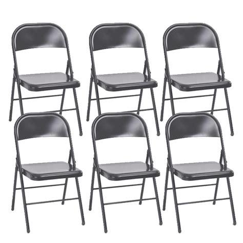 lot de 6 chaises grises lot de 6 chaises pliantes quot keelan quot gris