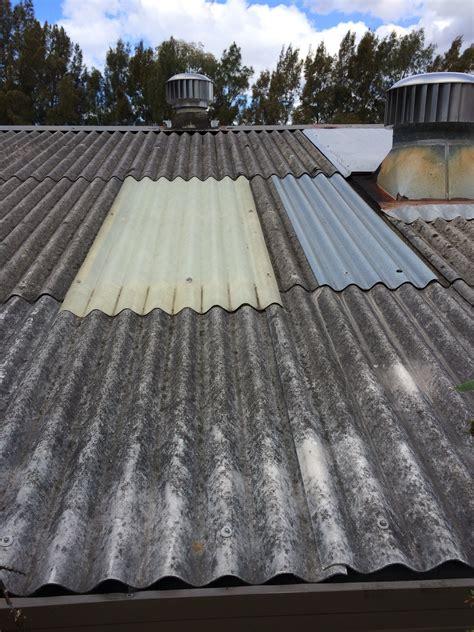 bernie banton asbestos cement corrugated roof wall
