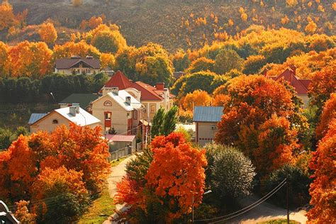 fall vacation ideas  places     fall