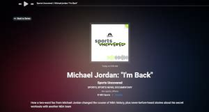 I'm Back Sports Uncovered - Awful Announcing