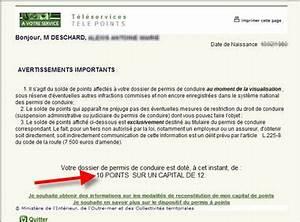 Consultation Points Permis De Conduire : comment consulter le solde des points restant sur son permis ~ Medecine-chirurgie-esthetiques.com Avis de Voitures