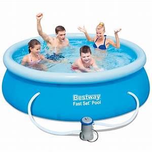 Bestway Pool Set : bestway fast set pool 8ft bestway 8ft fast set pool with filter pump all round fun ~ Eleganceandgraceweddings.com Haus und Dekorationen
