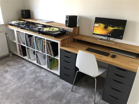 We provide various options of desks,tables and conference tables for your personal and professional workspace. DIY DJ Setup and Desk. - Ikea Kallax 2x4 - Ikea kallax 1x2 ...