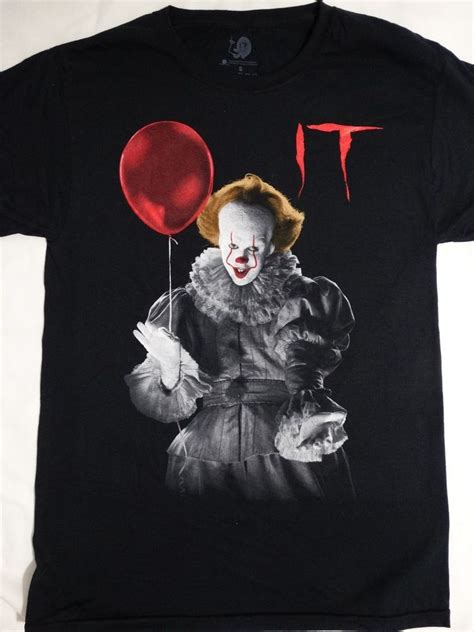 Tshirt Stmj Roffico Cloth it the pennywise the clown holding balloon t shirt