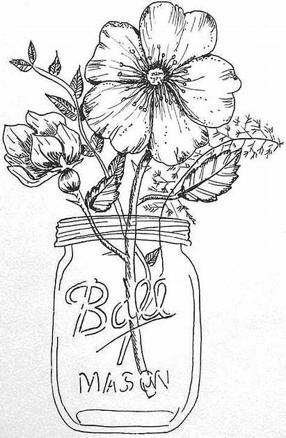 Jar Mason Drawing Getdrawings
