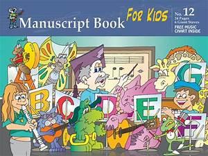 Music Staff Paper - Progressive Manuscript Book 12