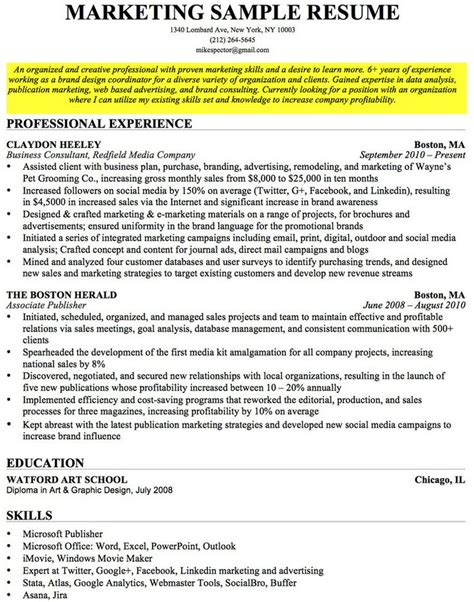 Professional Objective In Cv best 25 career objectives for resume ideas on