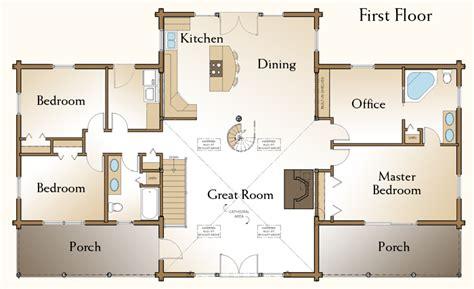 simple log cabin floor plans cottage country farmhouse design minimalist modern