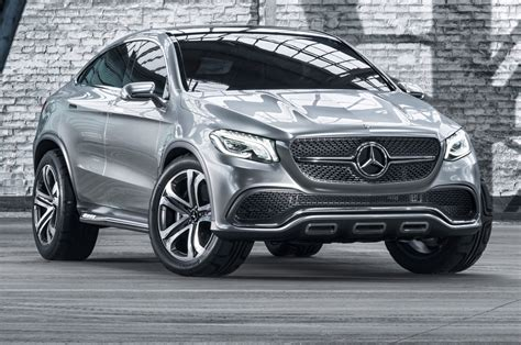 Mercedesbenz Concept Coupe Suv First Look  Motor Trend