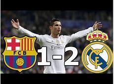 Barcelona Vs Real Madrid 12 RESUMEN GOLES 02042016