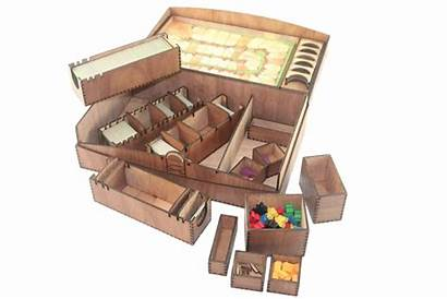 Carcassonne Box Standard Boxes Compatible Games Assembled