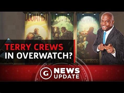 the rock thinks terry crews should voice overwatch s doomfist gs news update