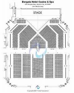 Borgata Seating Chart Borgata Events Center Tickets In Atlantic City New Jersey