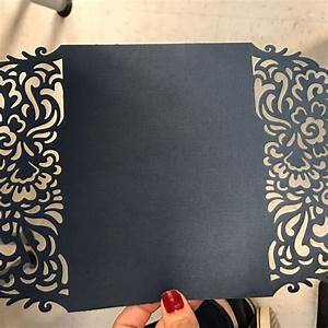 gate foldwedding invitation lasercut cricut template With wedding invitations with cricut explore