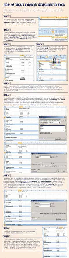 1000 ideas about budgeting worksheets on