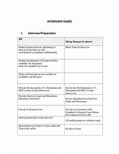 Interview Questionnaire Guide