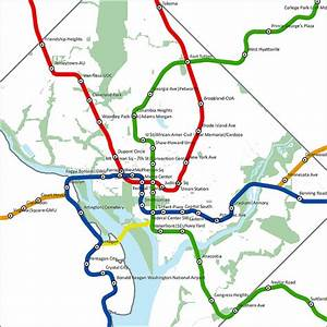 DC Mythbusting: Metro Map to Scale | We Love DC