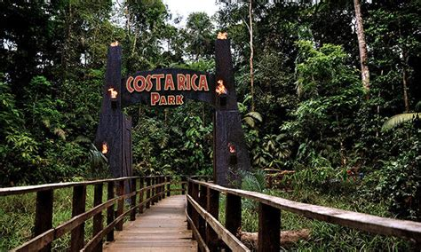 The Real Jurassic Park in Costa Rica
