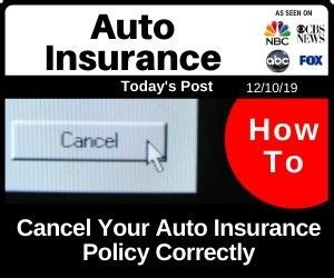 If you want to cancel only one or some of the dependents covered by your individual/family insurance contract, you can do so by calling the customer service number on the back of your id card. How to Cancel Your Auto Insurance Policy Correctly | Car insurance, Auto insurance companies ...