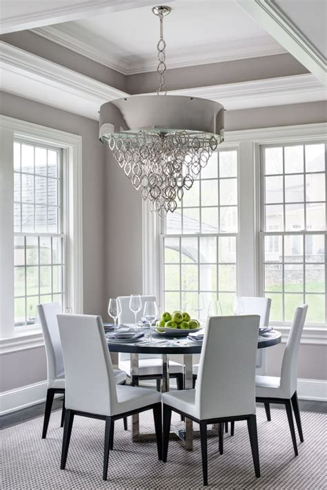 Dining Room Tray Ceiling Ideas - semerjian interiors breakfast room with tray ceiling