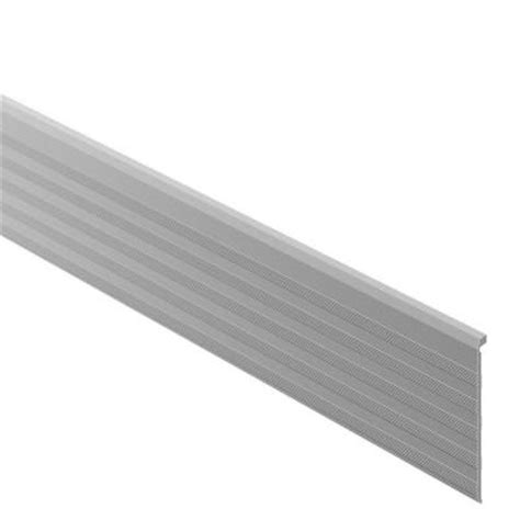 Stair Nosing For Tile Home Depot schluter trep tap satin anodized aluminum 2 13 32 in x 4