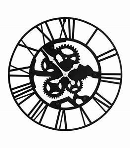 Horloge En Metal : horloge murale pendule murale horloge design horloge ancienne ~ Teatrodelosmanantiales.com Idées de Décoration