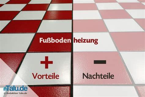Vor Und Nachteile Fußbodenheizung by Fu 223 Bodenheizung Vorteile Nachteile Im 220 Berblick Talu De