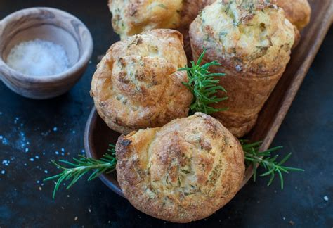 Popovers With Rosemary And Sea Salt