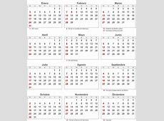 Calendario 2018 Para Imprimir Con Feriados En Mexico