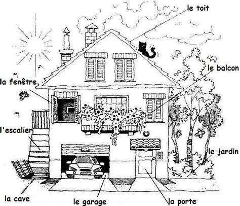 dessin maison de cagne le logement