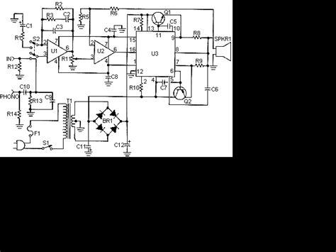 watt amplifier circuit electronic projects power
