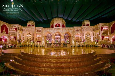 Mughal Style Grand Wedding Stage Wedding stage
