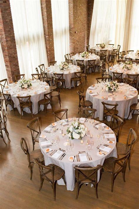 Rustic & Elegant New York Wedding Round wedding tables